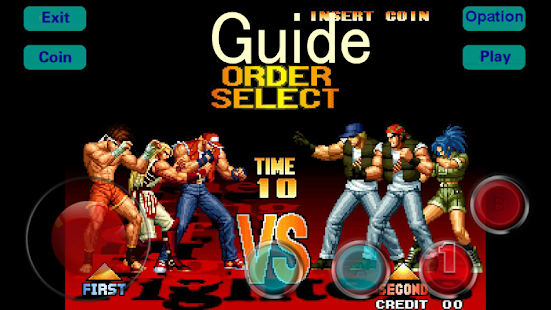 Guide for kof 97 - náhled