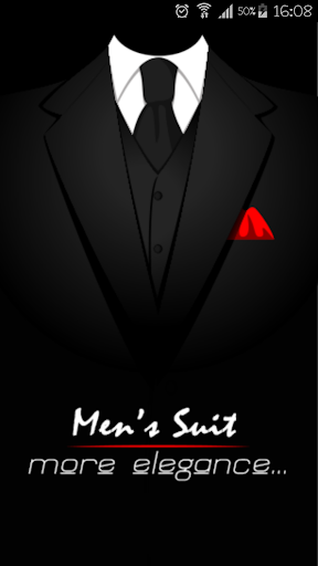 Men's suit models for cv uses