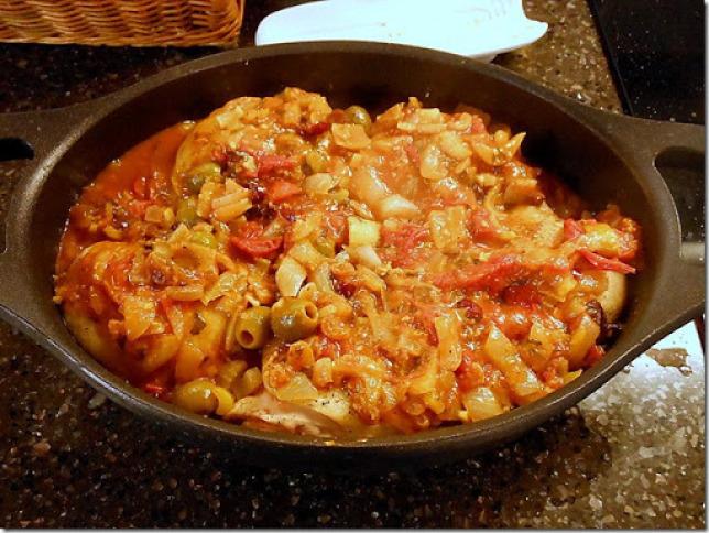 Chicken with Tomato Chutney Recipe