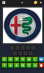 Logo Quiz Cars Screenshot