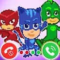 Fake Call Pj Heroes Masks - Funny Prank icon