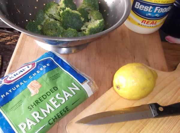 Lemony Broccoli