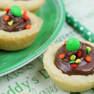 Nutella Cookie Cups.