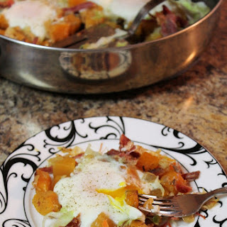 Rutabaga Hash with Corned Beef
