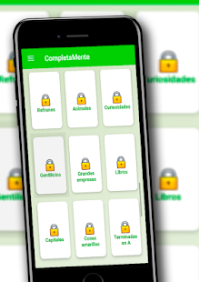 CompletaMente: Test de Cultura General gratis Screenshot