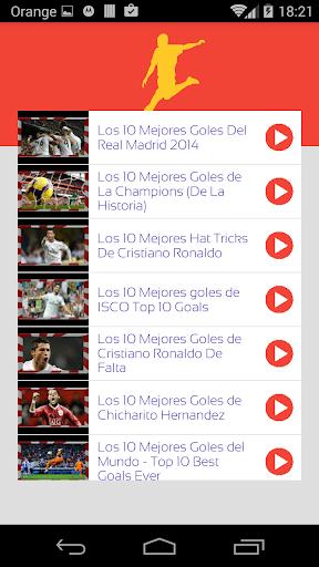 MEJOR GOL - Jugadores Futbol