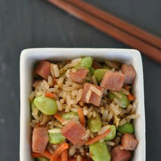 Ham and Vegetable Fried Brown Rice