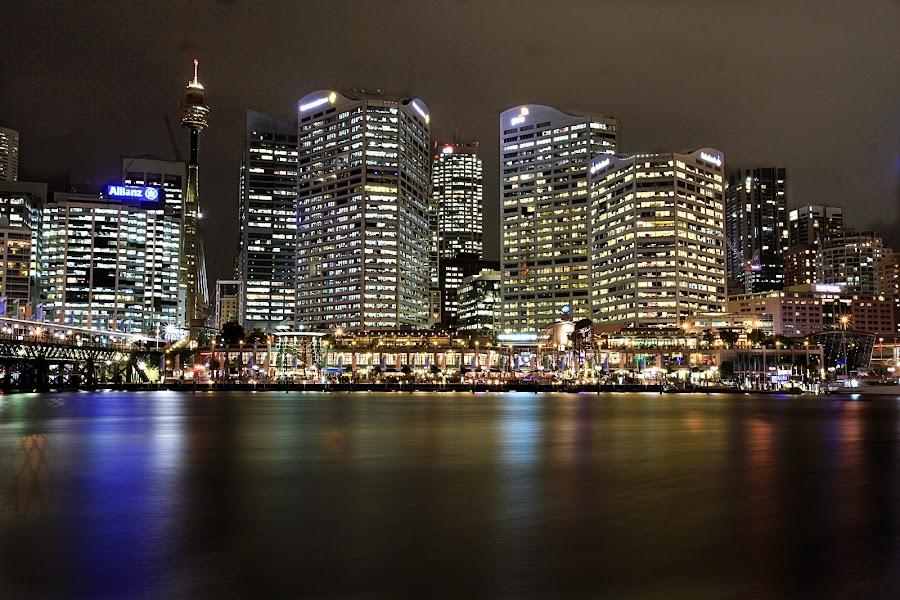 Sydney by Liza Wulandari - City,  Street & Park  Skylines