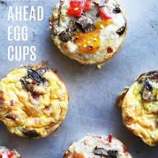 Make-Ahead Breakfast Egg Cups.