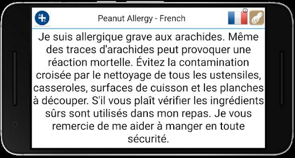 Allergy Travel Cards - náhled