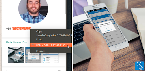 Make phone calls by highlighting phone numbers on any web page