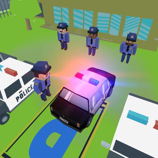Modern City Parking 18: Police Cars 2018