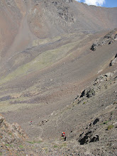 Photo: Abshir Pass, track up