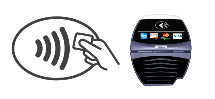 Apple Pay Contactless Payments Symbol and Reader - Moblized