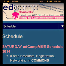 Photo: Deciding when to leave home for #edcampMKE tomorrow. Third year as serving as participant and volunteer event photographer. by didoe