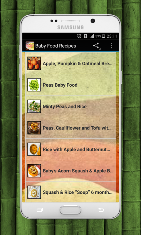 Baby food recipes android apps on google play baby food recipes screenshot forumfinder Gallery