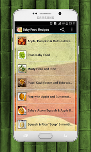 Baby food recipes apps on google play screenshot image forumfinder Gallery