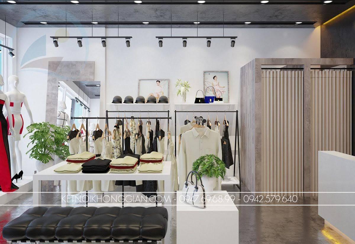 mẫu thiết kế shop thời trang giá rẻ số 1 - 5