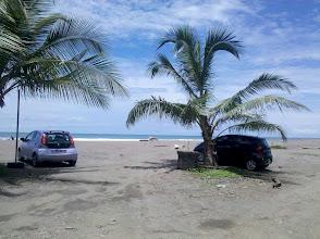 Photo: Der erste Strandbesuch - Jacó.