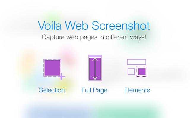 Voila Web Screenshot