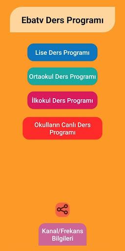 Eba TV Ders Programı screenshot 1