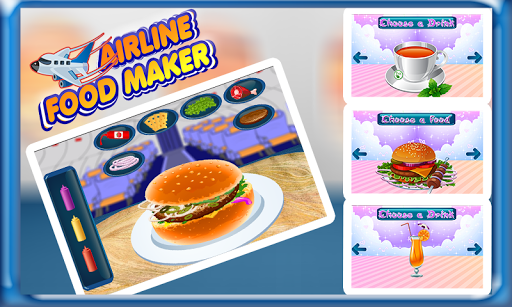 Airplane Food Maker Cooking