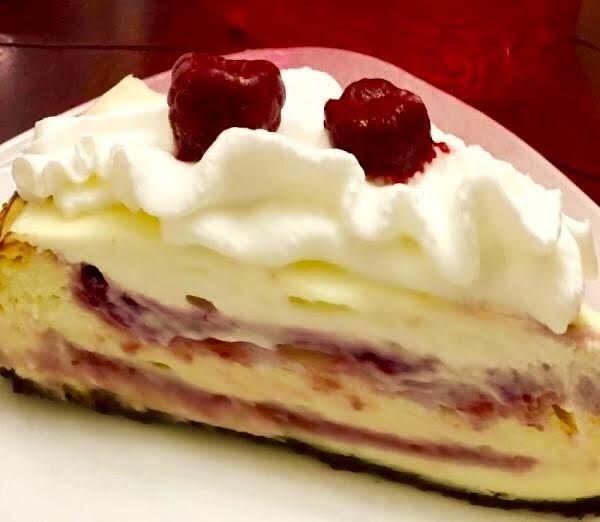 Raspberry White Chocolate Cheesecake Recipe