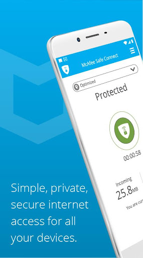 VPN Safe Connect: Private Wifi Hotspot, Secure VPN screenshot 1