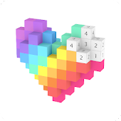 Voxel - 3D Color by Number & Pixel Coloring Book