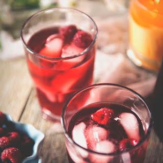 Raspberry Sake Tea