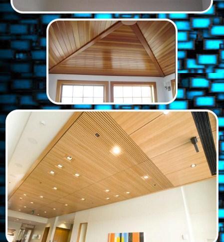 木製の天井