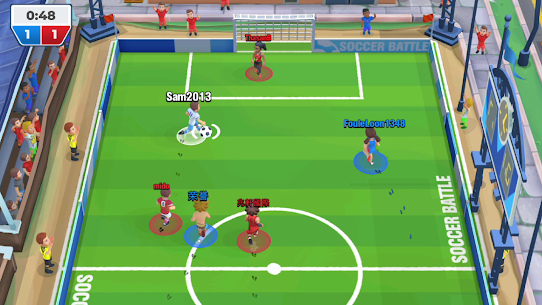 Soccer Battle – PvP Football MOD APK [Free Improvements] 3