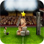 Angry Soccer Knock Down Icon