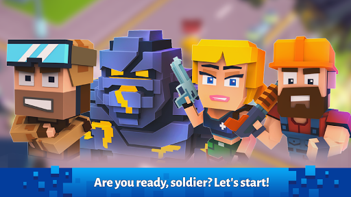 Pixel Arena Online: Multiplayer Blocky Shooter  {cheat|hack|gameplay|apk mod|resources generator} 5
