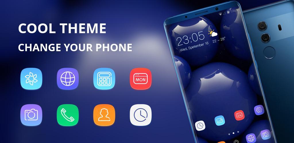 Theme for Xiaomi Mi 8 Pro Glass ball wallpaper APK Download theme