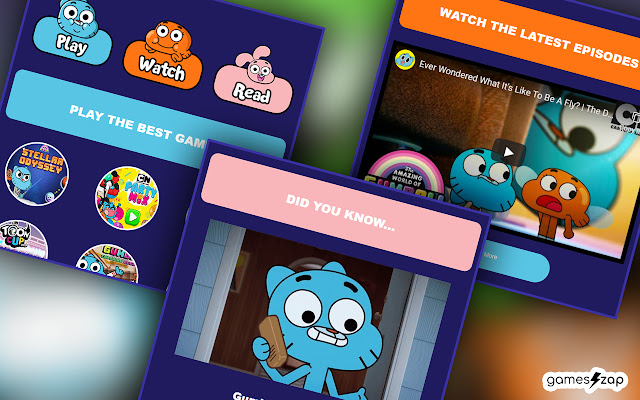World of Gumball - Read, Watch, Play!