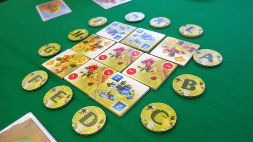 銀杏都市:ギンコポリス:ゲームの準備