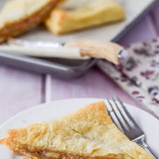 Almond Butter and Banana Puff Pastry.