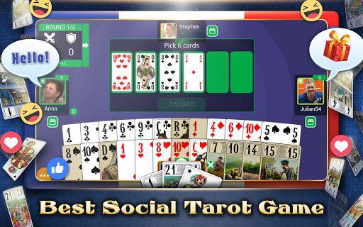 VIP Tarot - Free French Tarot Online Card Game 3.6.17 screenshots 15