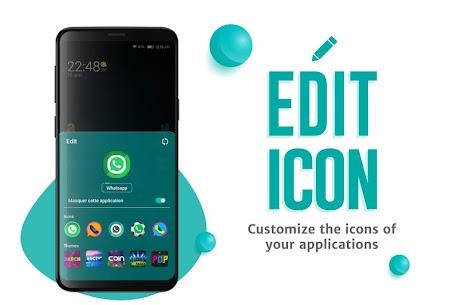 Apolo Launcher: Boost, theme, wallpaper, hide apps MOD (Premium) 4