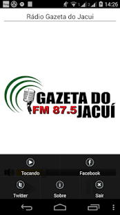 Rádio Gazeta do Jacui: miniatura da captura de tela