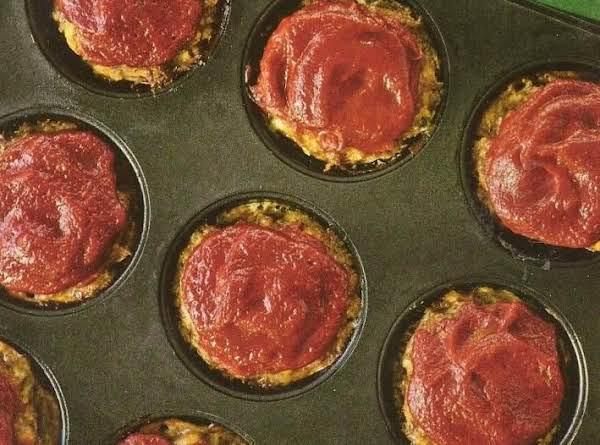 Speedy Mini Meat Loaves Recipe