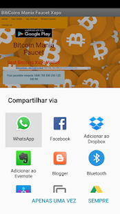 BitCoinMania Facets Xapo- screenshot thumbnail