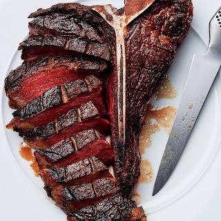 Slow-Roasted, Twice-Fried Porterhouse Steak
