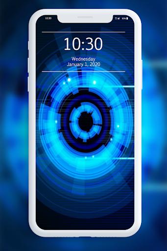 Blue Wallpaper 1.0 screenshots 4