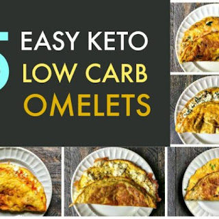 5 Easy Keto Low Carb Omelets.