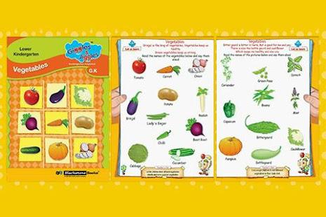 Vegetables for LKG Kids - Giggles & Jiggles – Apps bei Google Play