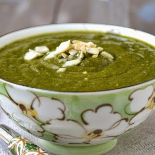 Palak Badam Shorba (Spinach Almond Soup)