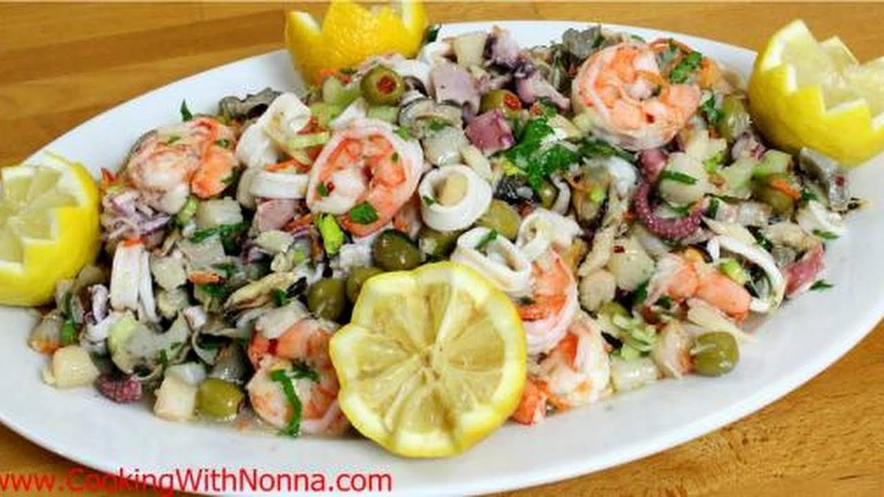 Seafood Salad Recipe Real Crab Meat