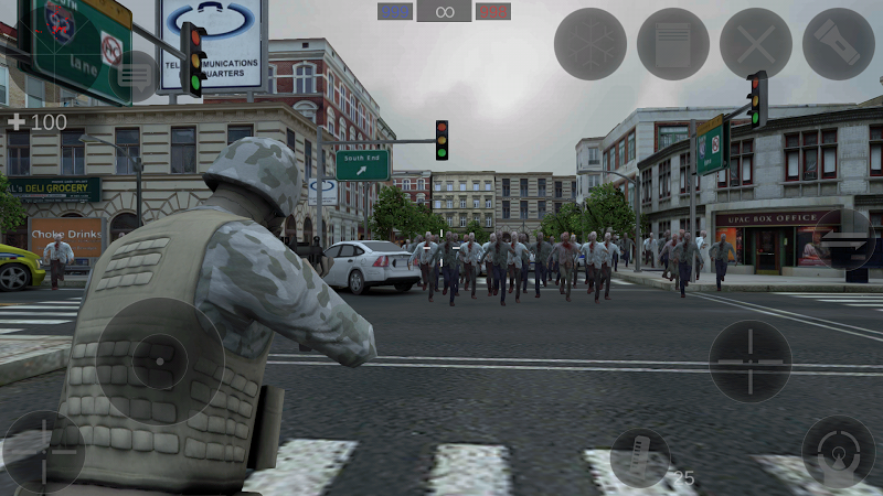 Zombie Combat Simulator Screenshot 14